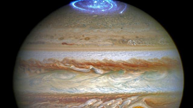 Polarlichter auf Jupiter