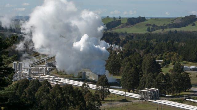 Weirakei-Kraftwerk in Neuseeland