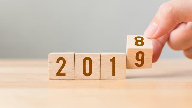 Jahreswechsel 2018 - 2019