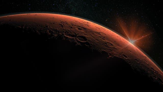 Mars (künstlerische Darstellung)