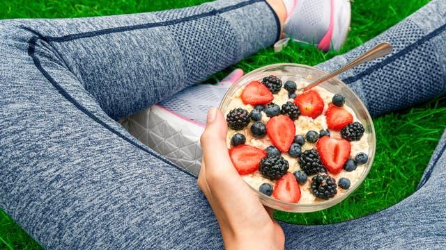 Auch mit veganer Ernährung lassen sich sportliche Höchstleistungen vollbringen