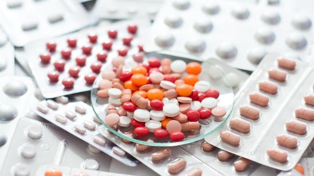 Eine Vielzahl von Medikamenten