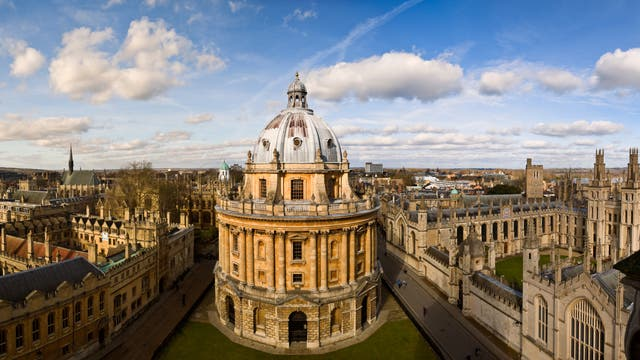 Die Bodleian Library in Oxford