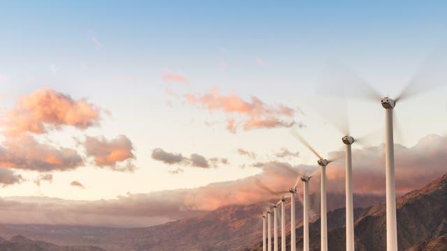 Windpark in Palm Springs