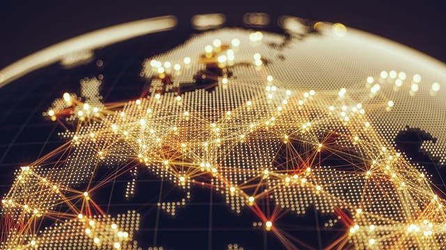 Netzwerke verbinden Computer - und Länder