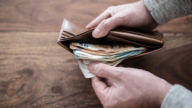 Ein dickes Portemonnaie ist für viele ein gutes Ruhekissen