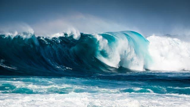 Große Welle vor den Kanaren