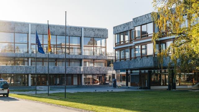 Das Gebäude des Bundesverfassungsgerichts in Karlsruhe.