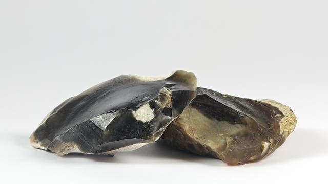 Obsidian für Steinzeitwerkzeuge