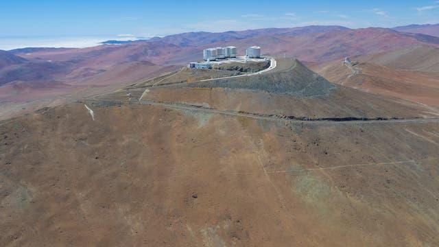 Paranal Observatorium in der Atacamawüste