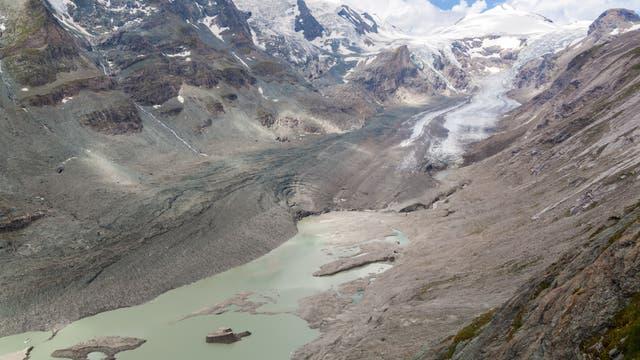 Gletscher im Nationalpark Hohe Tauern