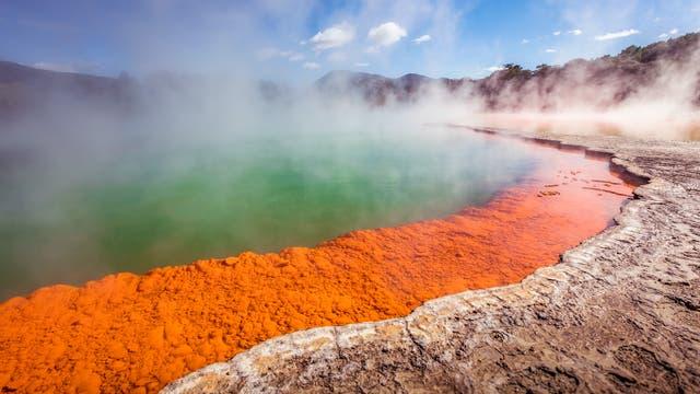 Geothermische Quelle