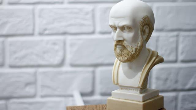 Büste von Hippokrates