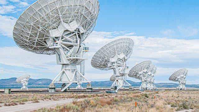 Das Very-Large-Array-Radioteleskop