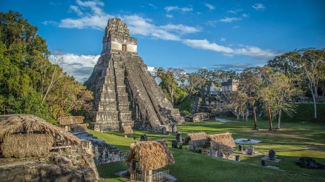 Die Maya-Stätte von Tikal in Guatemala