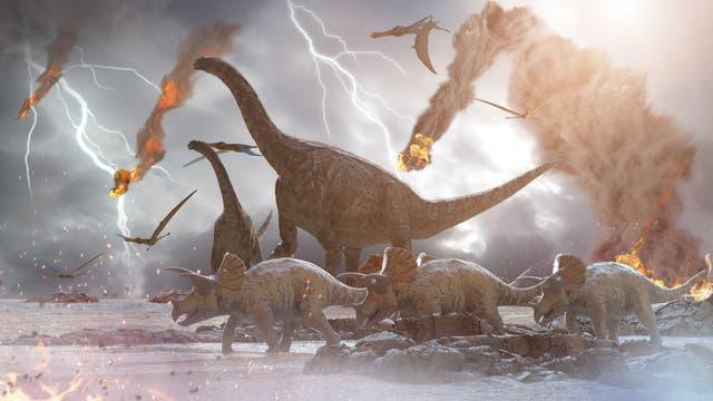 Asteroideneinschlag vernichtet Dinosaurier