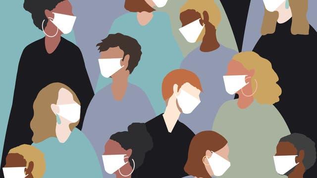 Gesichtsmasken schützen nur bedingt vor dem Coronavirus.