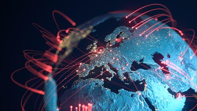 Weltweit lassen sich Maschinen vernetzen