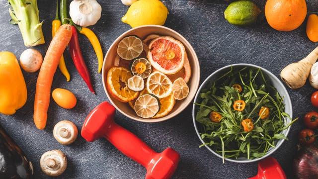 Gesund durch Ernährung und Sport