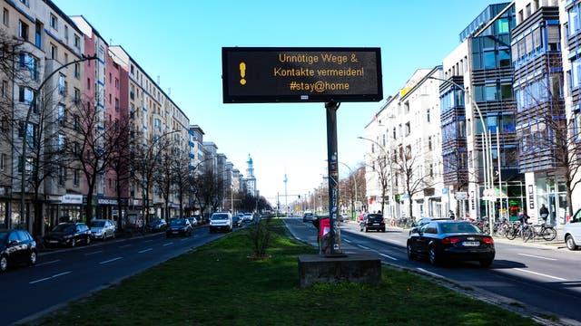 Berlin im März 2020