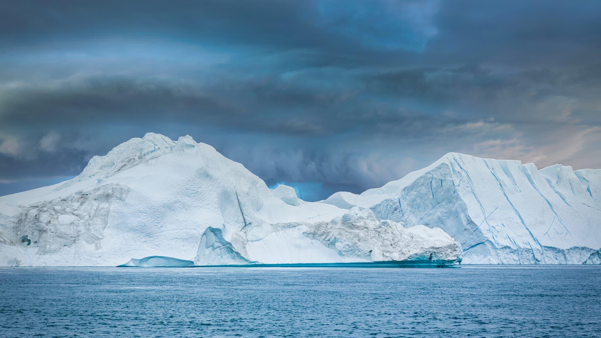 Wetter über Grönland