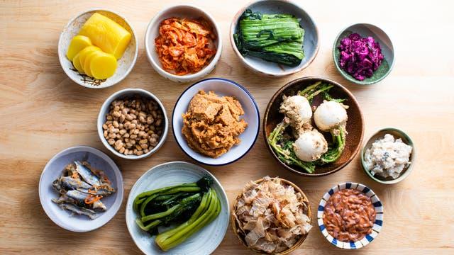 Fermentierte Lebensmittel aus Japan