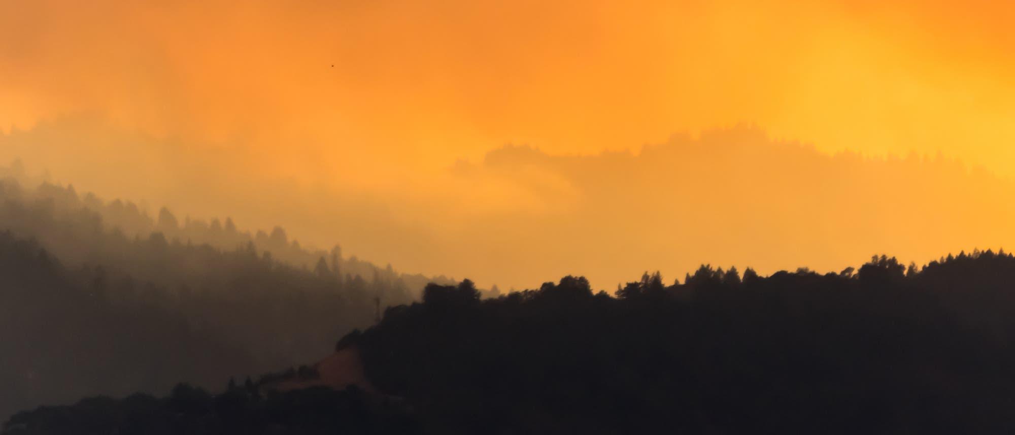 Waldbrände in Kalifornien, August 2020