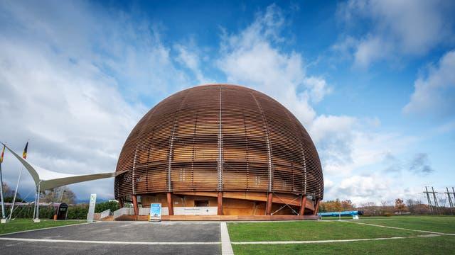 Globe of Science am CERN.