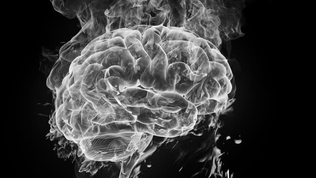 Gehirn aus Rauch