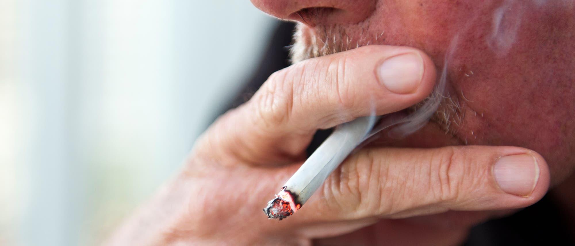 Raucher sind besonders gefährdet für einen schweren Covid-Verlauf