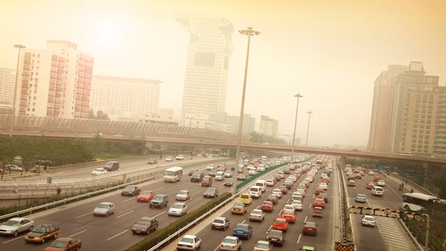 Smog und Stau