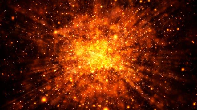 Immer mal wieder ereignen sich im Universum massive Explosionen, die zu Gammablitzen führen können. (Symbolbild)