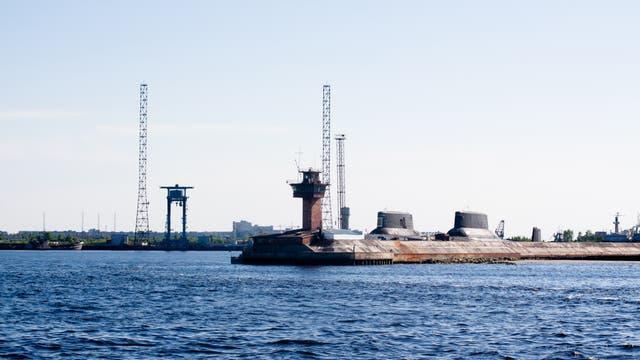 Marineanleger bei Sewerodwinsk