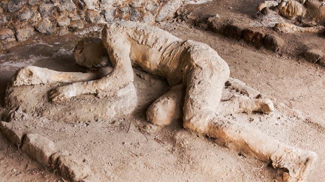Tote in Pompeji
