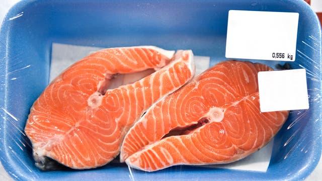 Verpackter Fisch