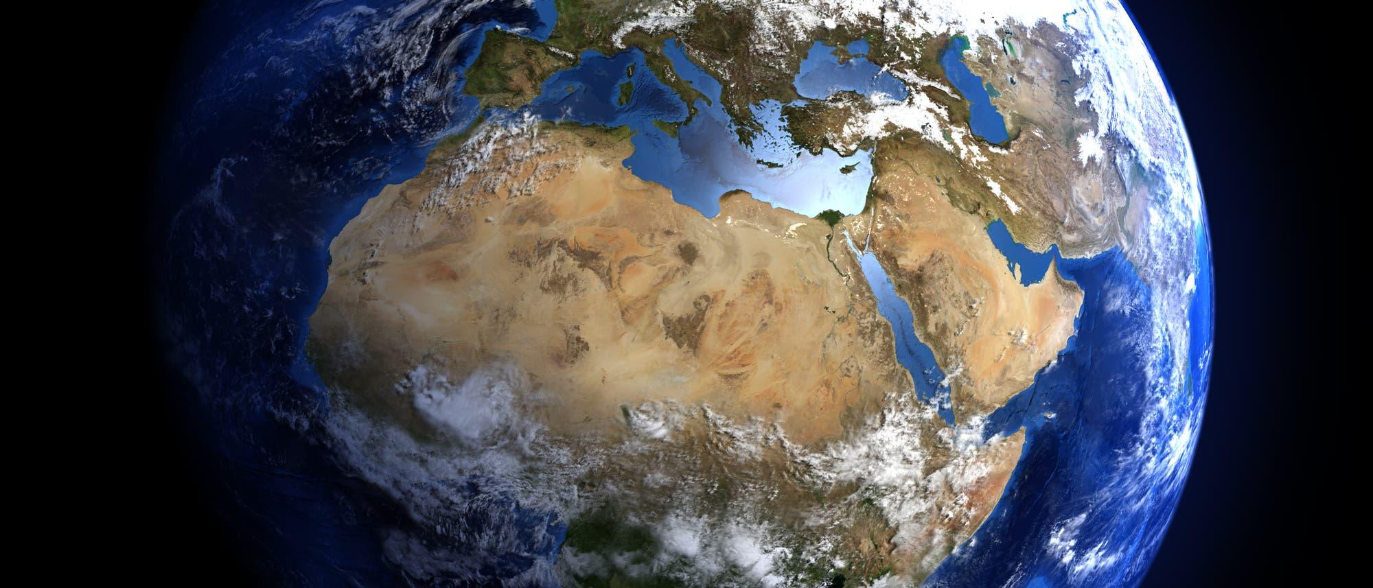 Die Erde aus dem All
