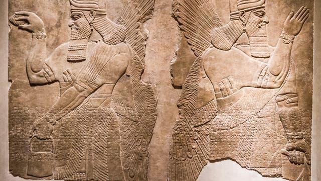 Relief aus neuassyrischer Zeit