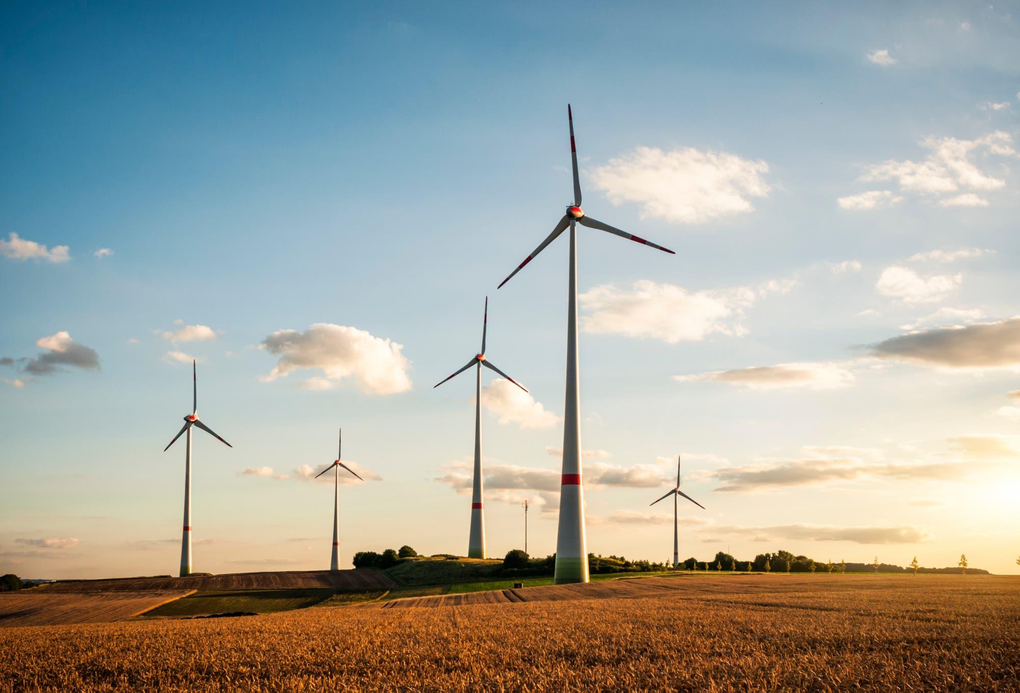Massiver Ausbau der Erneuerbaren