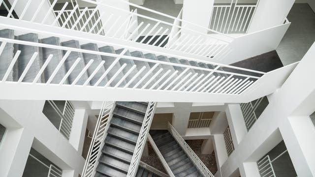 Ein schwindelerregendes Treppenhaus