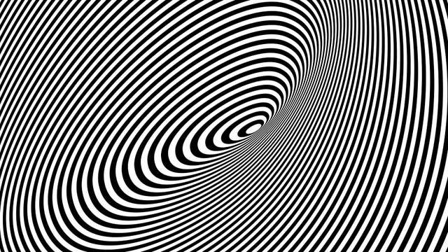 Kontrastreiche Streifenmuster empfinden wir oft als unangenehm– ähnliche Bilder können unter Umständen sogar epileptische Anfälle auslösen.