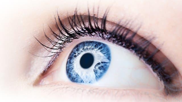 Auge aus der Nähe