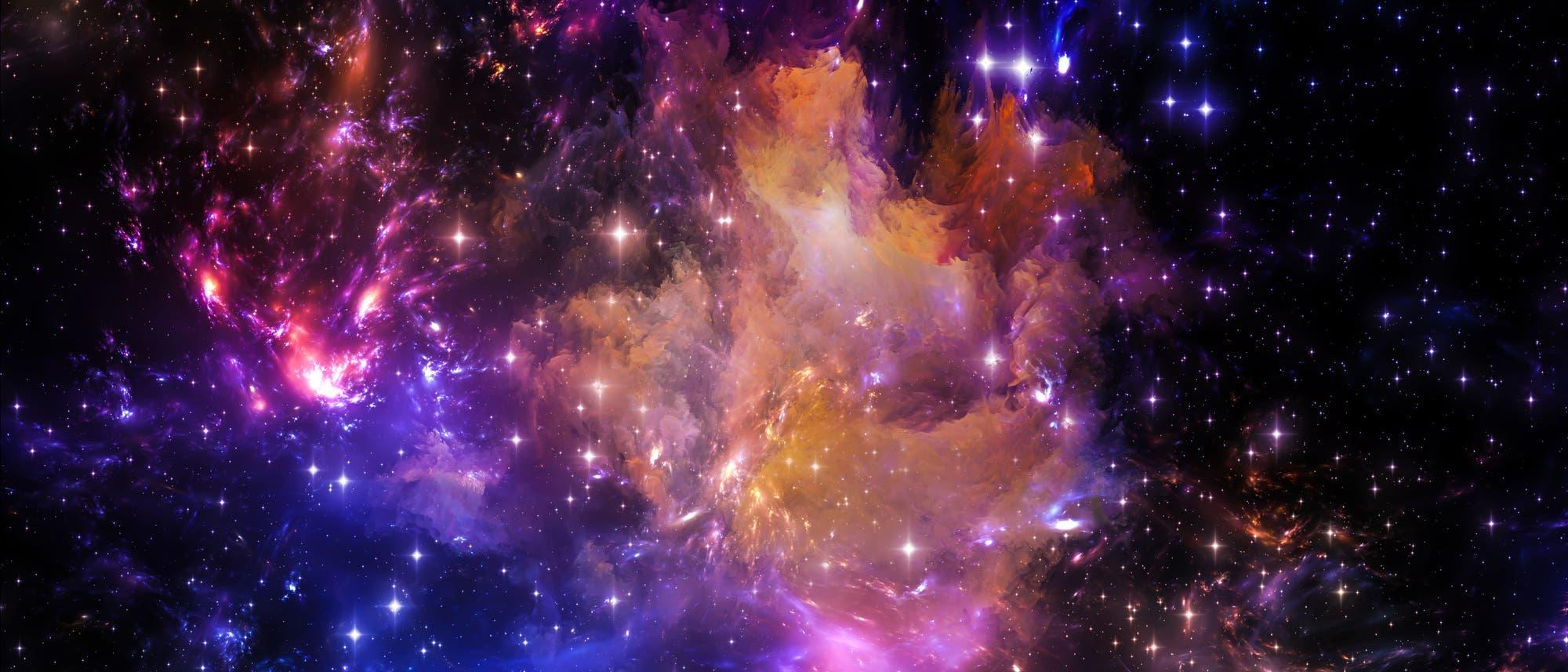 Abstrakte Darstellung Universum