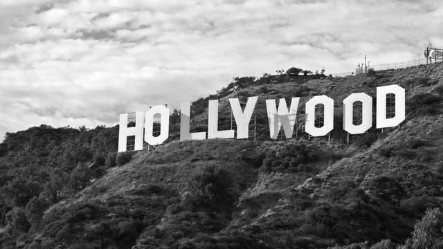 Das berühmte Schild in den Hollywood Hills