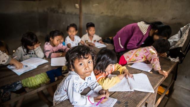 Schule in Kambodscha.
