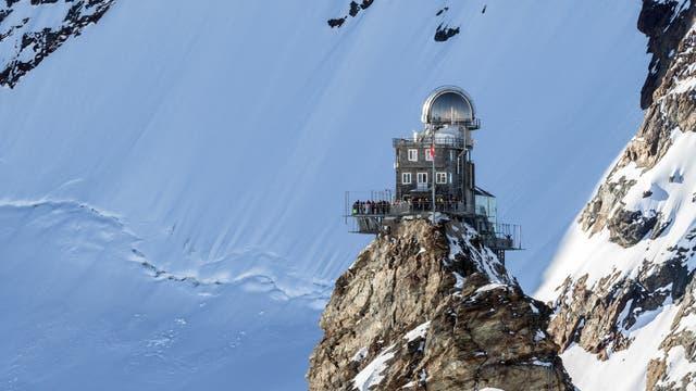 Forschungsstation auf dem Jungfraujoch