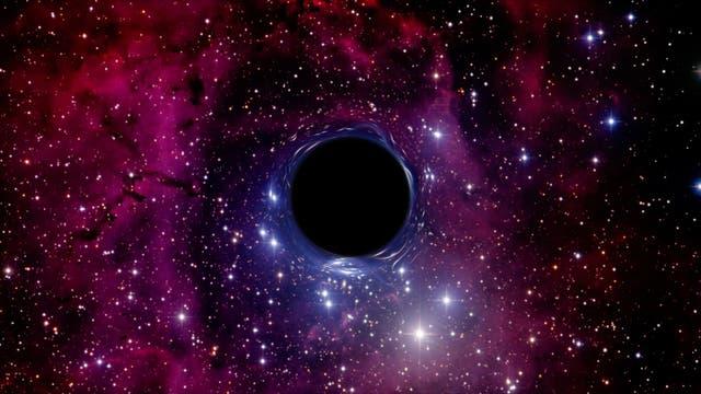 Schwarzes Loch, Raumverzerrung