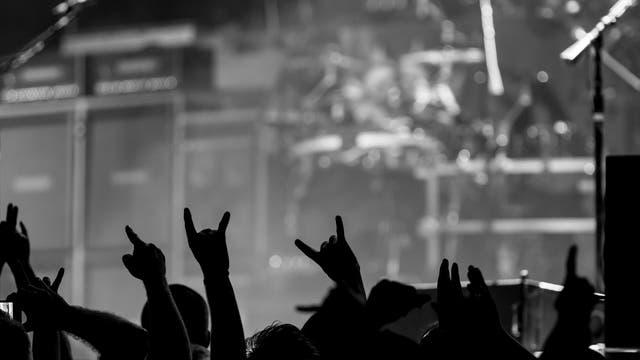 Metal-Konzert