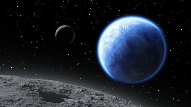 Wasserwelt Exoplanet