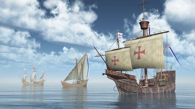 Die Schiffe des Christoph Columbus
