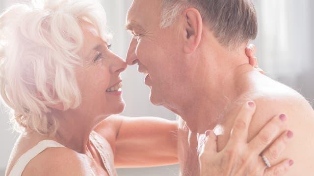 Seniorenpärchen